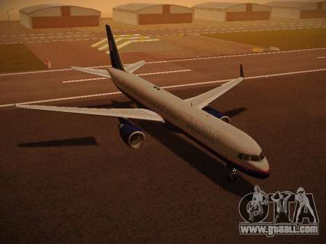 Boeing 757-224 United Airlines for GTA San Andreas interior