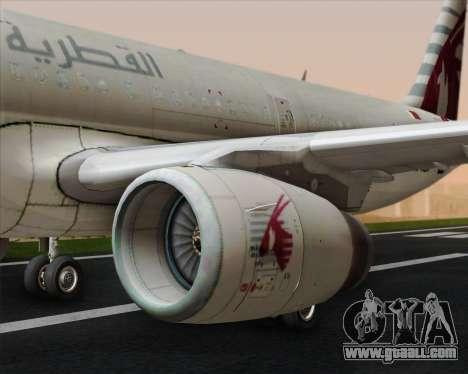 Airbus A321-200 Qatar Airways for GTA San Andreas engine