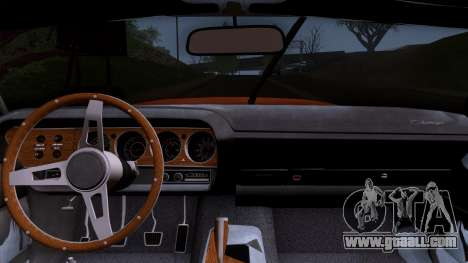Dodge Challenger 426 Hemi (JS23) 1970 (HQLM) for GTA San Andreas right view