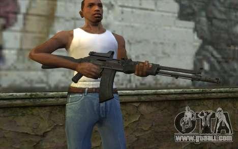 AK-107 for GTA San Andreas third screenshot