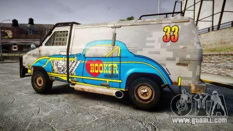 Kessler Stowaway Hooker Headers for GTA 4 left view