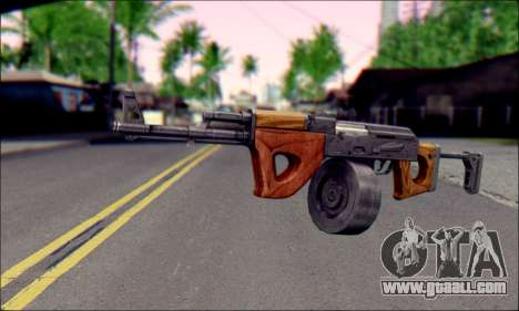 Imported AK for GTA San Andreas