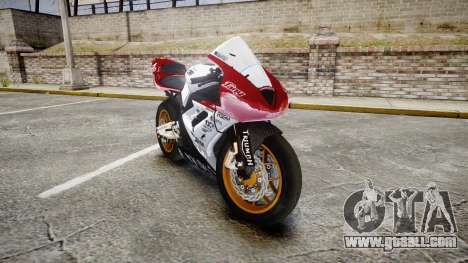 Daytona 675R 2011 for GTA 4