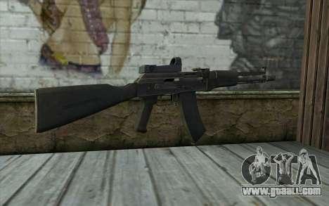 AK-107 for GTA San Andreas second screenshot