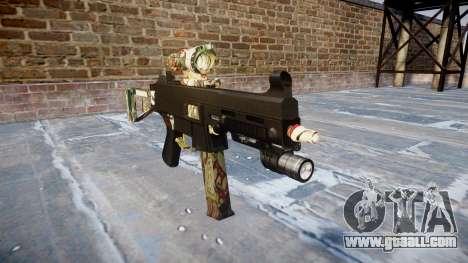 Gun UMP45 Ronin for GTA 4