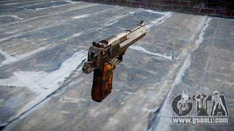 Pistol Desert Eagle Dragon for GTA 4 second screenshot