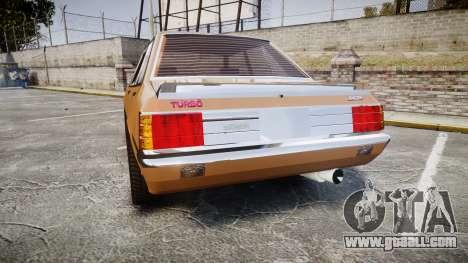 Mitsubishi Lancer EX 1800 GSR for GTA 4 back left view