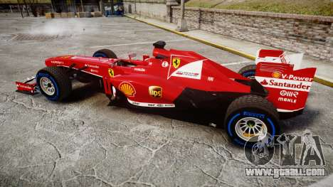 Ferrari F138 v2.0 [RIV] Alonso TFW for GTA 4 left view