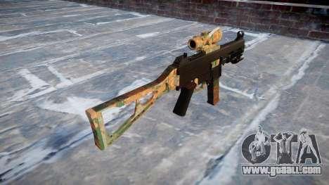 Gun UMP45 Jungle for GTA 4 second screenshot
