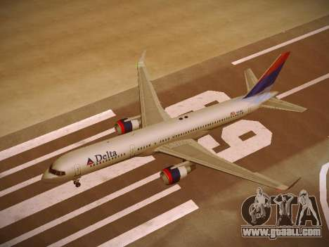 Boeing 757-232 Delta Airlines for GTA San Andreas interior