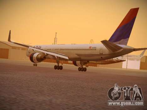 Boeing 757-232 Delta Airlines for GTA San Andreas back left view