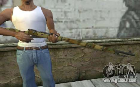 The Mosin-v4 for GTA San Andreas third screenshot