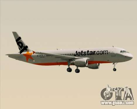 Airbus A320-200 Jetstar Airways for GTA San Andreas engine
