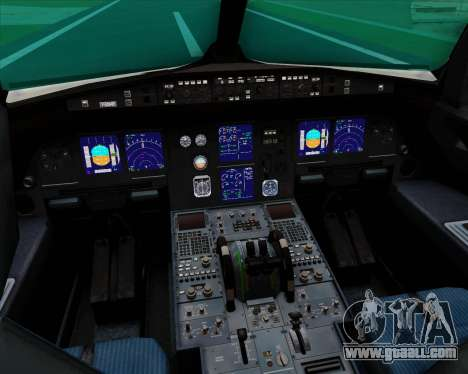 Airbus A321-200 Qatar Airways for GTA San Andreas interior