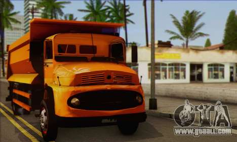 Mercedes-Benz 911 Truck for GTA San Andreas back left view