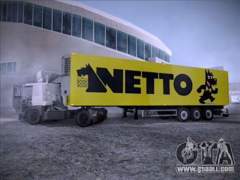 Trailer NETTO for GTA San Andreas