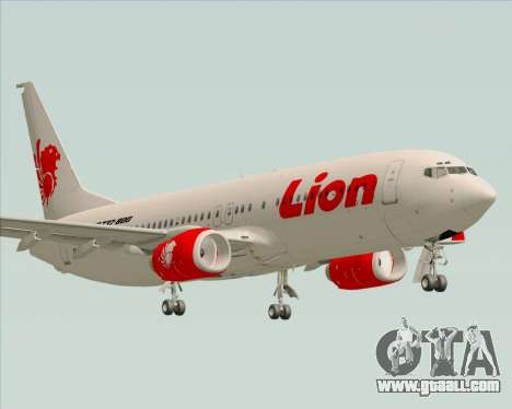 Boeing 737-800 Lion Air for GTA San Andreas