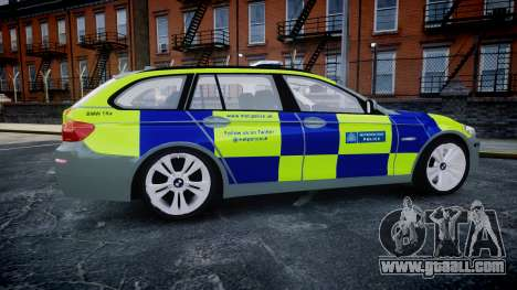 BMW 530d F11 Metropolitan Police [ELS] SEG for GTA 4 left view
