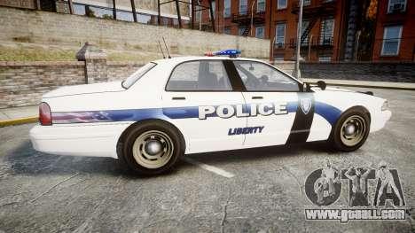 GTA V Vapid Cruiser LP [ELS] for GTA 4 left view