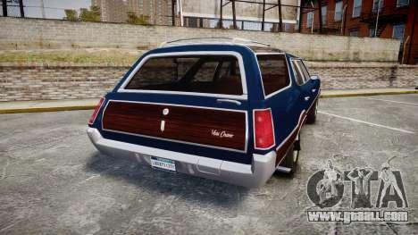 Oldsmobile Vista Cruiser 1972 Rims2 Tree4 for GTA 4 back left view