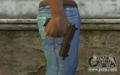 FN FNP-45 Without Muffler for GTA San Andreas third screenshot