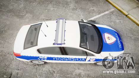 Peugeot 508 Republic of Srpska [ELS] for GTA 4 right view