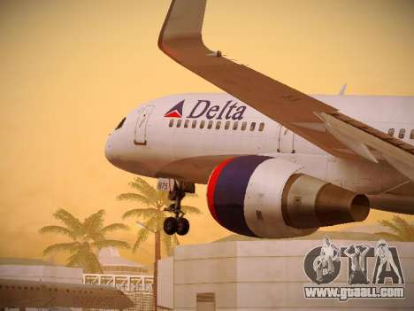 Boeing 757-232 Delta Airlines for GTA San Andreas