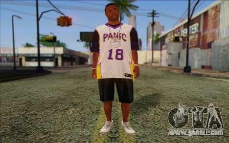 Ballas from GTA 5 Skin 3 for GTA San Andreas