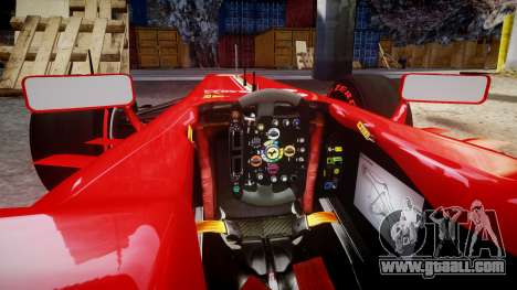 Ferrari F138 v2.0 [RIV] Massa TSSD for GTA 4 inner view