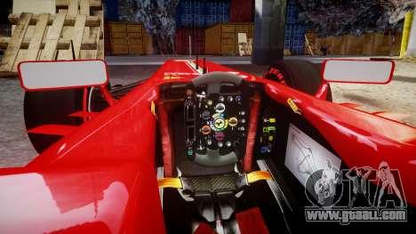 Ferrari F138 v2.0 [RIV] Massa TSSD for GTA 4 inner view