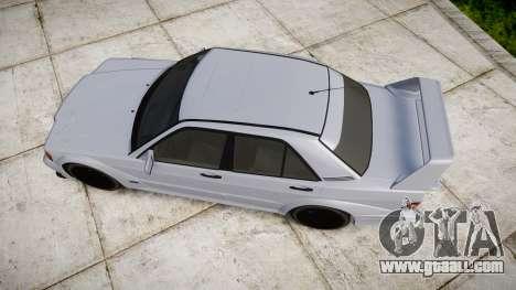Mercedes-Benz 190E Evolution II for GTA 4 right view