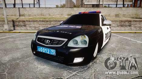 VAZ-2170 Priora Police for GTA 4