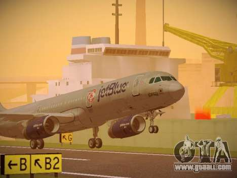 Airbus A321-232 jetBlue Boston Red Sox for GTA San Andreas left view