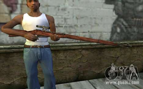 The Mosin (Battlefield: Vietnam) for GTA San Andreas third screenshot