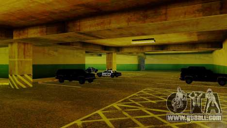 New vehicles in the LVPD for GTA San Andreas fifth screenshot