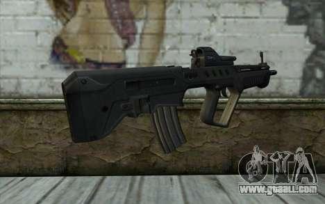 TAR-21 Bump Mapping v2 for GTA San Andreas second screenshot