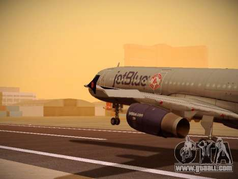 Airbus A321-232 jetBlue Boston Red Sox for GTA San Andreas