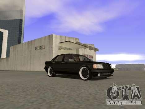 Mercedes-Benz 190E 3.2 AMG for GTA San Andreas