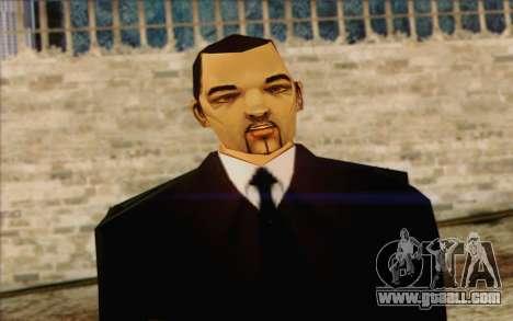 Leone from GTA Vice City Skin 1 for GTA San Andreas third screenshot