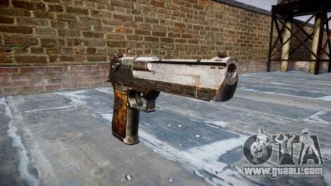 Pistol Desert Eagle Dragon for GTA 4