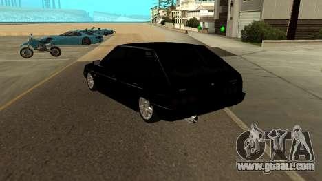 VAZ 2109 Turbo for GTA San Andreas back left view