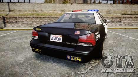 GTA V Vapid Cruiser LSP [ELS] for GTA 4 back left view