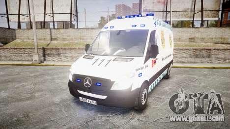 Mercedes-Benz Sprinter ARM Ambulance [ELS] for GTA 4