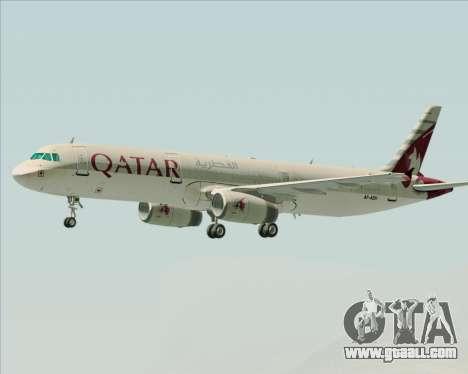 Airbus A321-200 Qatar Airways for GTA San Andreas