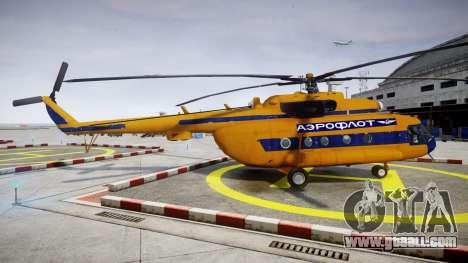 Mi-8 for GTA 4 left view