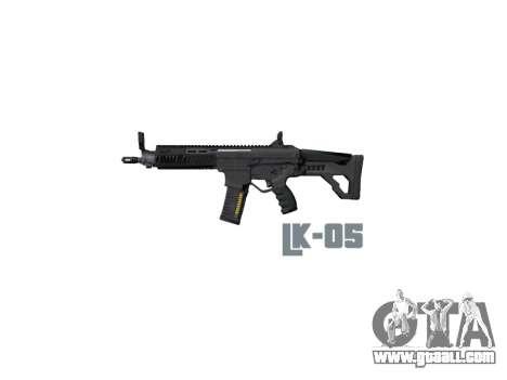Machine LK-05 stock icon3 for GTA 4 third screenshot