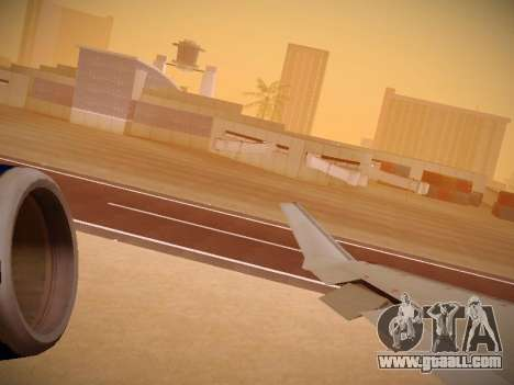 Bombardier CRJ-700 United Express for GTA San Andreas engine