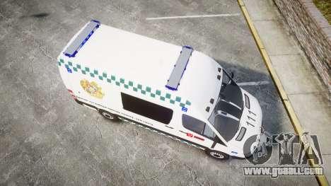 Mercedes-Benz Sprinter ARM Ambulance [ELS] for GTA 4 right view