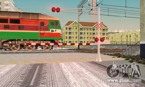 New textures for railway traffic for GTA San Andreas