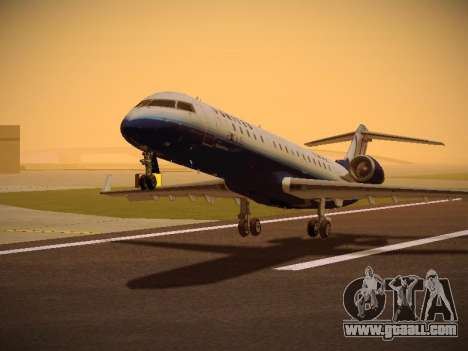 Bombardier CRJ-700 United Express for GTA San Andreas